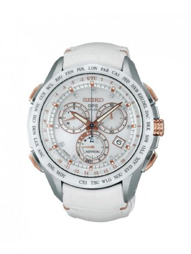 SEIKO Astron Limited Edition Solar Powered Chronograph GPS Solar Powered Chronograph Gents Watch SSE021J1